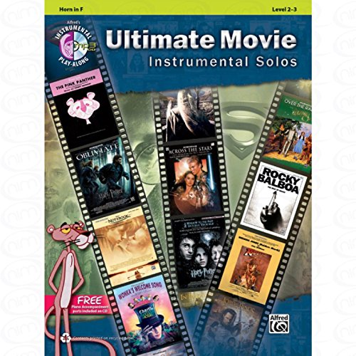 Ultimate Movie Instrumental Solos-arrangés pour cor-avec CD [Partitions/sheetm usic] de la gamme: Instrumental Play Along