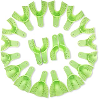 AZDENT Dental Plastic Impression Trays Professional Teeth Whitening Trays(20 pcs)
