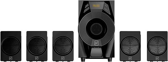 Matata MTM51376 True 30 Watt 5.1 Channel Multimedia Speaker with Built in Amplifier, LED Display, Multi Connectivity - Wir...