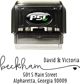 pre inked address stamp