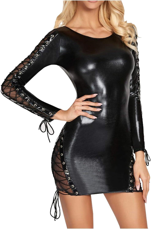 7Heaven Ladies Mini Dress in Wetlook