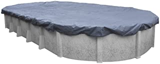 Pool Mate 461833PM Classic Winter Pool Cover for Oval Above Ground Swimming Pools, 18 x 33-ft. Oval Pool
