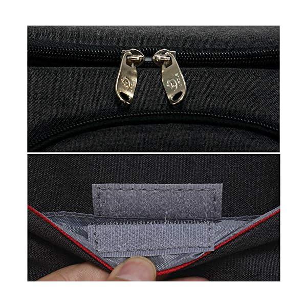 619BCgG1mHL. SS600  - FengHui 18L refrigerador aislado caja de almuerzo del bolso del almuerzo grande enfriador mochila bolsa Azul, valor…