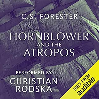 Hornblower and the Atropos cover art