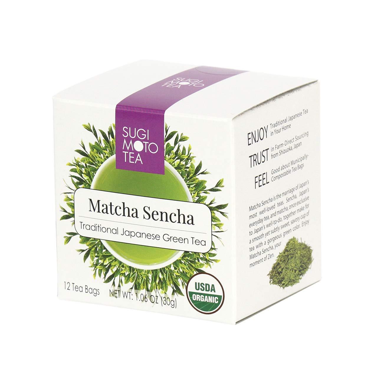 Detroit Mall Sugimoto Tea - Organic Sencha Oklahoma City Mall Green Antioxida Japanese Authentic