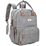 Diaper Bag Backpack, RUVALINO Multifunction Travel Back Pack Maternity...