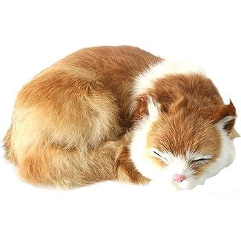 猫 ぬいぐるみ リアル 寝そべり ねこ 本物そっくり ネコちゃん 置物 部屋飾り インテリア #3