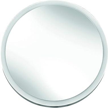 Kleine Wolke Miroir cosmétique avec Miroir en Verre et abs/Verre Blanc 21 x 34 x 9 cm.