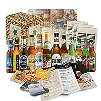 🎁 Contenu: coffret cadeau avec les 12 meilleures bières d'Allemagne (spécialités de bière d'Allemagne) 12 spécialités de bière allemandes ++ brochure d'information de haute qualité sur les bières incluses ++ instructions de dégustation ++ cadeaux de ...