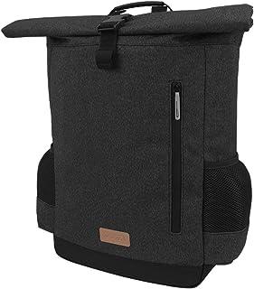 Ibera Bike Pannier Backpack - 2 in 1 Bike Bag, Large Capacity 15 L with Foldaway Shoulders Straps, Protective Inner Sleeve...