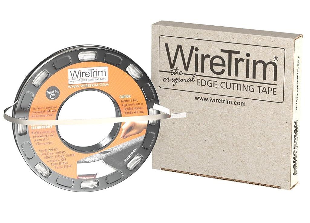 WireTrim, TrueLine (Standard), Edge Cutting Tape, 1/4-Inch X 100 Feet, 1 Roll, 883662001178