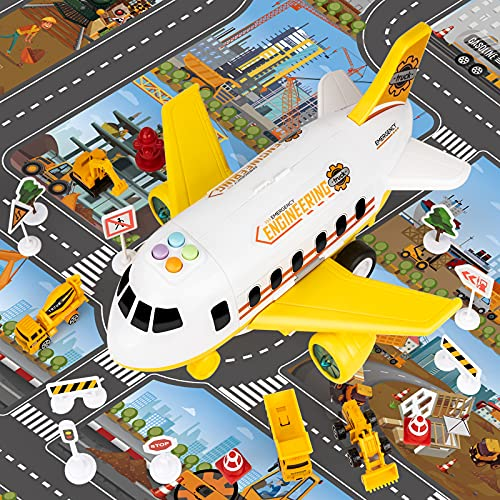 COVTOY Airplane Toys for 2 3 4 Year Old Boys, Toddler Boy Toys Plane...