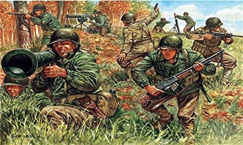 Italeri 510006046 - 1:72 2nd WW Amerikanische Infanterie