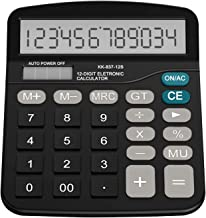 $47 » Desk Calculator Solar Battery Office Calculator Standard Function Calculator Large LCD Display Big Sensitive Button Dual P...