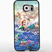 トーマス・キンケード リトルマーメイド iPhoneとサムスン ギャラクシー ケース(Samsung Galaxy S7 Edge ブラック)CCCM1160