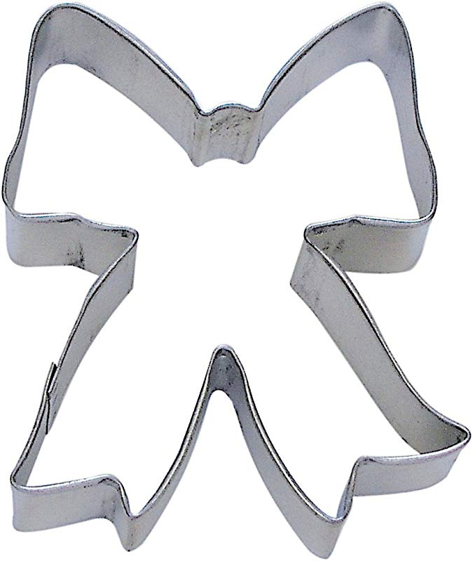 R M Ribbon Bow 3 5 Cookie Cutter In Durable Economical Tinplated Steel