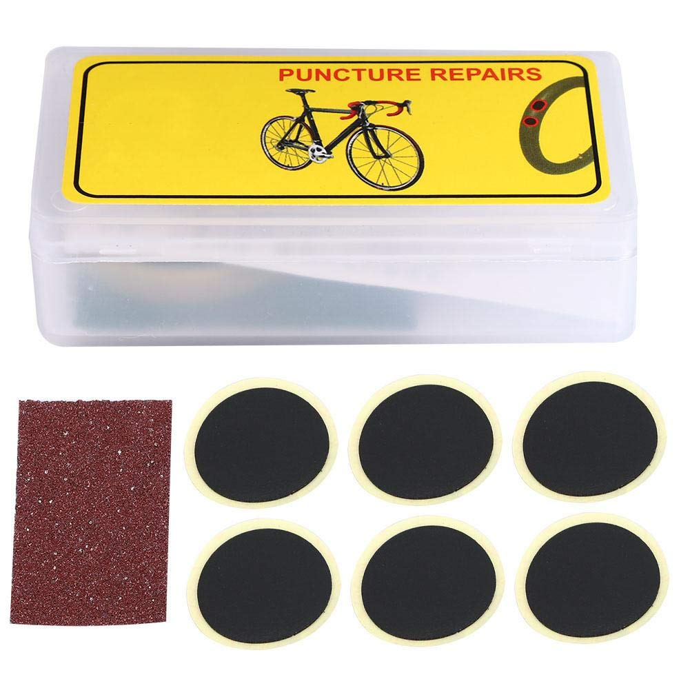 Juego de Parche para llanta de Bicicleta Papel de Lija ...