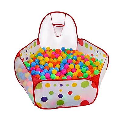 KUUQA Kids Ball Pit Ball Tent Toddler Ball Pit ...