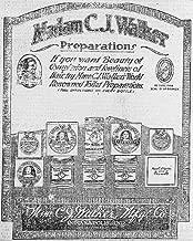 HistoricalFindings Photo: Madam C.J. Walker-Preparations,1920,Advertisement,Cold Cream,Complexion Product