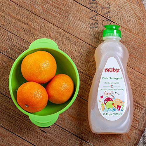 Nuby Dish Detergent with Natural Ingredients and Citroganix...