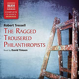 Ragged Trousered Philanthropists   audiobook cover art