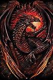 Spiral - Dragon Furnace - Fantasy, Maxi-Poster, Druck,