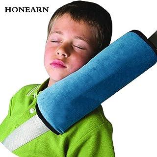 Child Kids Toddler Car Seat Belt Shoulder Pad Cover Head Neck Support