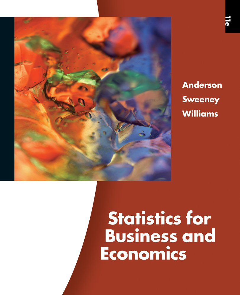Image OfStatistics For Business And Economics