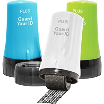 ID Protect Tool Self-Inking Confidential Seal Roller Stamp Information Security