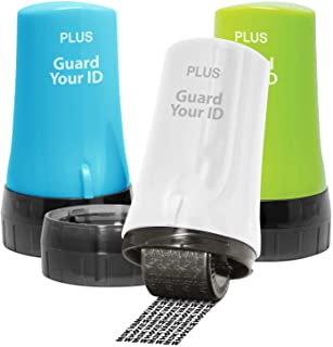 Guard Your ID Advanced 2.0 Roller Identity Theft Protection for Confidential Security Stamp (Regular 3-Pack, Mixed Color: ...