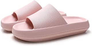 Womens Mens Pillow Slides Pool Sliders Shower Shoes Beach Sandals Bathroom Slippers Thick Sole Non Slip Comfy