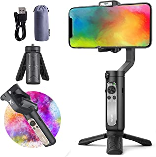 Gimbal Stabilizer for Smartphone, Hohem iSteady X 3-Axis Handheld Steadicam Phone Stabilizer for iPhone 11 X XR XS 8 7+, S...