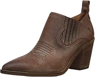 Frye Women's Faye Shootie Fashion Boot, Chocolate, 10 M US