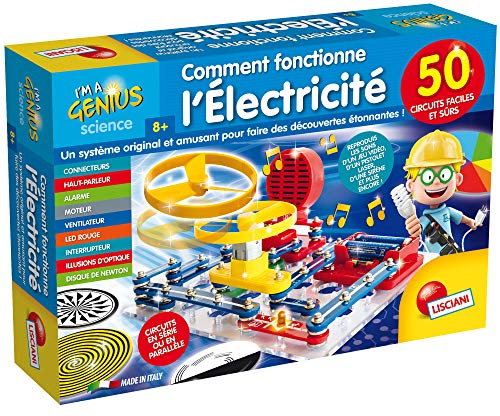 Lisciani Giochi SCIENTIFICHE - Come Funziona L'ELECTRICITE - FR69415 Blu, Rosso