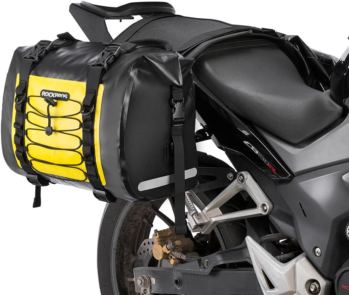 ROCKBROS Max 70% OFF Motorcycle Saddle Bags Ranking TOP18 Saddlebags Waterproo Motorcycles