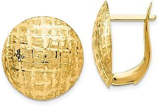 14k Yellow Gold Gold Earrings
