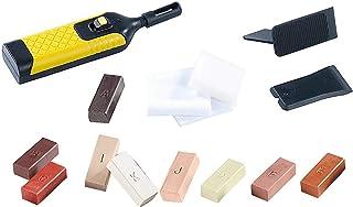 TOOGOO 19Pcs Laminate Repair Kit Wa System Floor Worktop Sturdy Case Chips Scratches
