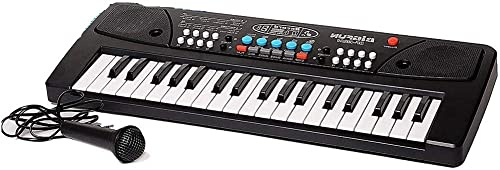 Fancy 37 Key Piano Keyboard Toy for Kids with Mic Dc Power Option Recording Charger not Included Best Birthday Gift for Boys and Girls Musical Instruments Keyboard Music