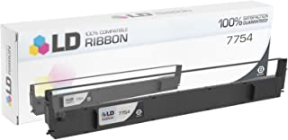 LD Compatible Printer Ribbon Cartridge Replacement for Epson 7754 (Black)