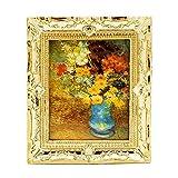 Odoria 1/12 Miniatur Gemälde mit Bilderrahmen Für Puppenhaus Dekoration Zubehör