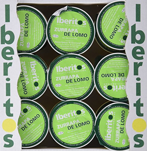 Iberitos - Monodosis de Zurrapa Blanca - 18 Unidades x 22 gr