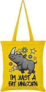 Grindstore I'm Just A Fat Unicorn Tote Bag