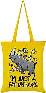 Grindstore I'm Just A Fat Unicorn Tote Bag