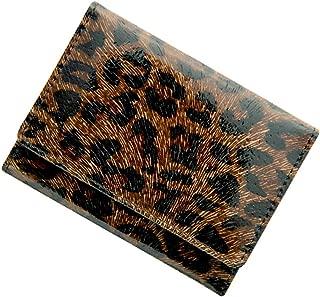 極小財布 コラボ別注 「レオパード」 BECKER 日本製 ミニ財布/三つ折り