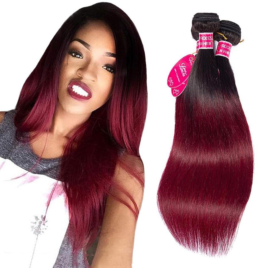 特許シールド教養がある女性の髪織りブラジルストレート未処理バージン人毛100%人毛横糸自然織りバンドル(3バンドル)