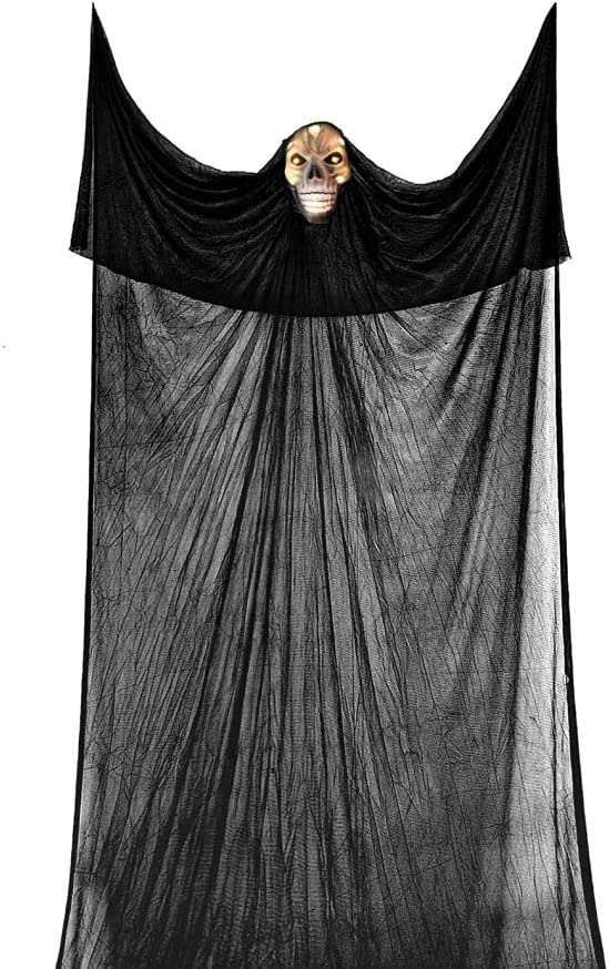URMAGIC Halloween Ghost Hanging Oakland Mall Mask Decorations with 4 years warranty Light-up