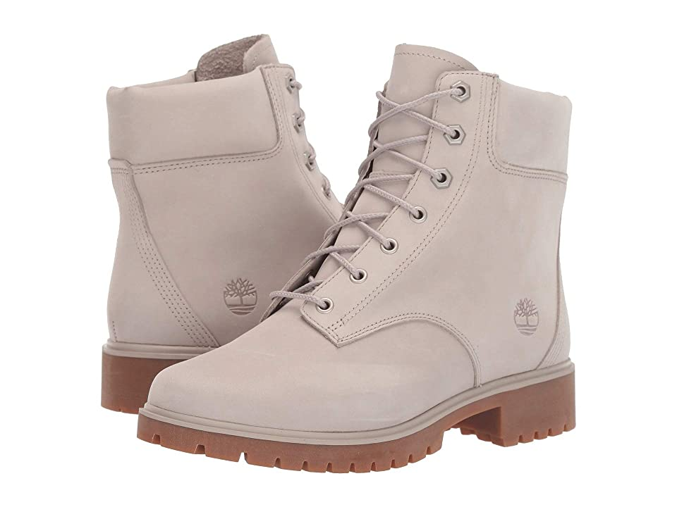 Timberland Jayne 6 Waterproof Boot (Light Taupe Nubuck) Women