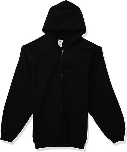 Gildan Men's Fleece Zip Hooded Sweatshirt, Style G18600