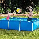 Sooiy Elija Piscina de Tierra para Niños La Fiesta del Agua Familia 220X150X60 Cm Verano al Aire Libre, al Aire Libre Piscinas Desmontables