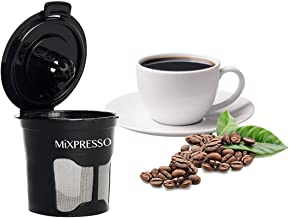 6 Reusable Single K-Cup Compatible Solo Filter Pod Coffee Stainless Mesh by Mixpresso